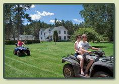 ATVs, trails, hiking, outdoor activities